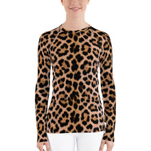 "XS Leopard ""All Over Animal"" 2 Women's Rash Guard by Design Express"