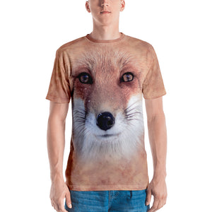 "XS Red Fox ""All Over Animal"" Men's T-shirt All Over T-Shirts by Design Express"