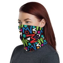 Pop Geometrical Pattern 02 Neck Gaiter Masks by Design Express
