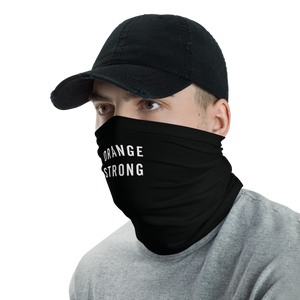 Orange Strong Neck Gaiter Masks by Design Express
