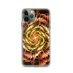 iPhone 11 Pro Abstract Flower 01 iPhone Case by Design Express