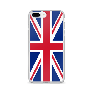"iPhone 7 Plus/8 Plus United Kingdom Flag ""Solo"" iPhone Case iPhone Cases by Design Express"