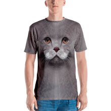 "XS Cat ""All Over Animal"" Men's T-shirt All Over T-Shirts by Design Express"