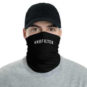 Default Title #NOFILTER Hashtag Neck Gaiter Masks by Design Express