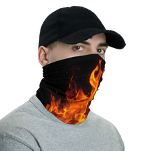 On Fire Neck Gaiter Masks by Design Express