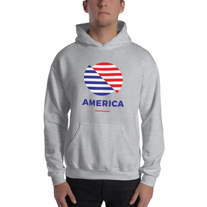 "America ""The Rising Sun"" Hooded Sweatshirt"