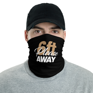 Default Title 6ft Away Please Neck Gaiter Masks by Design Express