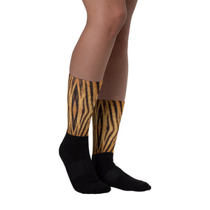 "M Tiger ""All Over Animal"" 1 Socks by Design Express"
