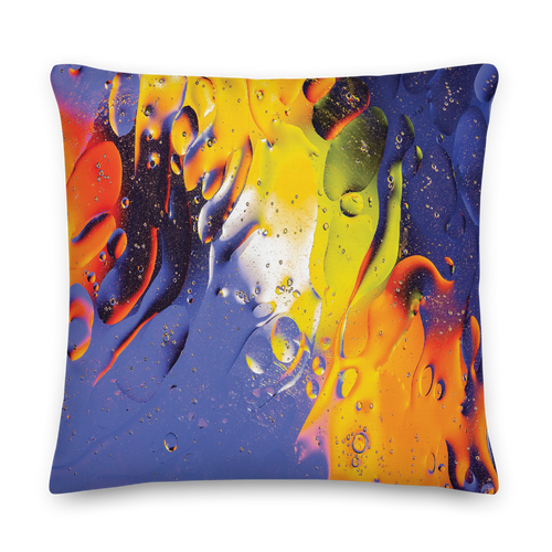 22×22 Abstract 04 Square Premium Pillow by Design Express
