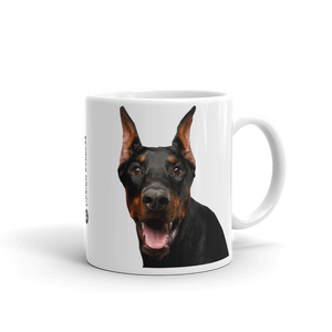 Default Title Doberman Mug by Design Express