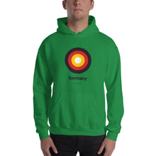 "Irish Green / S Germany ""Target"" Hooded Sweatshirt by Design Express"