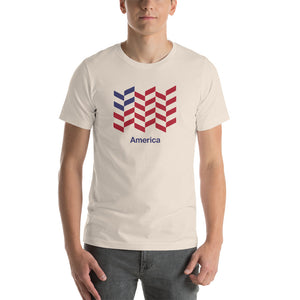 "Soft Cream / S America ""Barley"" Short-Sleeve Unisex T-Shirt by Design Express"