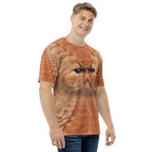 "Persian Cat ""All Over Animal"" Men's T-shirt All Over T-Shirts by Design Express"