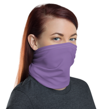 Purple Neck Gaiter Masks by Design Express