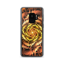 Samsung Galaxy S9 Abstract Flower 01 Samsung Case by Design Express