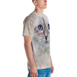 "Siberian Kitten ""All Over Animal"" Men's T-shirt All Over T-Shirts by Design Express"