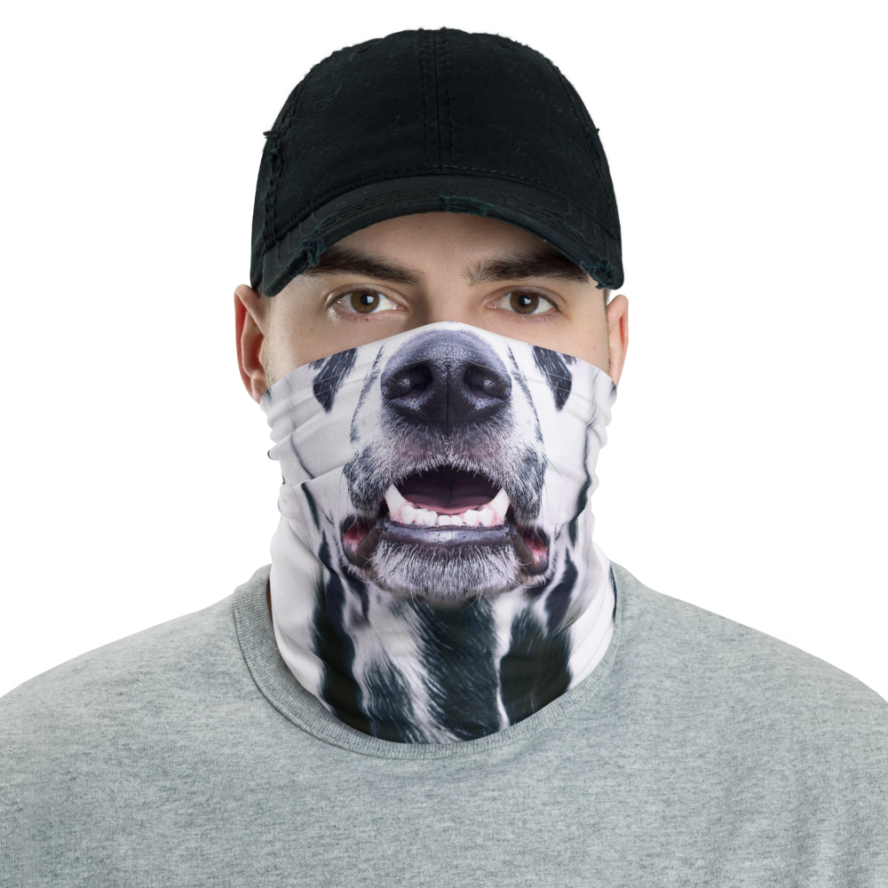 Default Title Dalmatian Dog Neck Gaiter Masks by Design Express