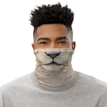 Default Title White Lion Neck Gaiter Masks by Design Express