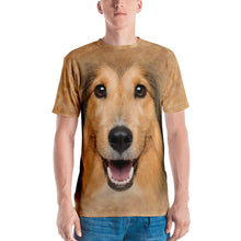 "XS Shetland Sheepdog ""All Over Animal"" Men's T-shirt All Over T-Shirts by Design Express"