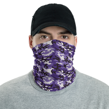 Default Title Purple Camo Neck Gaiter Masks by Design Express