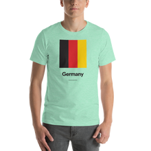 "Heather Mint / S Germany ""Block"" Unisex T-Shirt by Design Express"