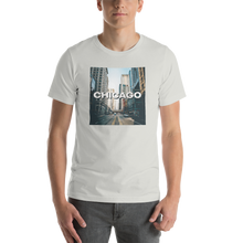 Silver / S Chicago Unisex T-Shirt by Design Express