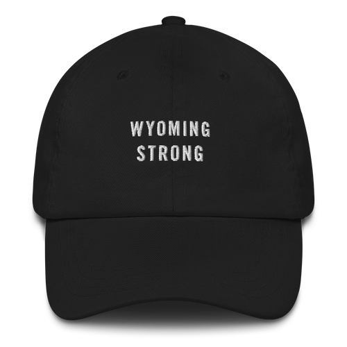 Default Title Wyoming Strong Baseball Cap Baseball Caps by Design Express