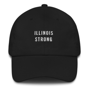 Default Title Illinois Strong Baseball Cap Baseball Caps by Design Express