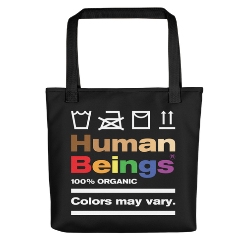 Default Title Human Beings Tote bag by Design Express