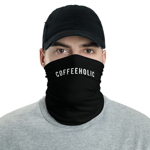 Default Title Coffeeholic Neck Gaiter Masks by Design Express
