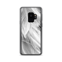 Samsung Galaxy S9 White Feathers Samsung Case by Design Express