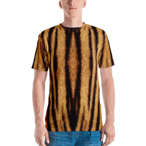 "XS Tiger ""All Over Animal"" 1 Men's T-shirt All Over T-Shirts by Design Express"