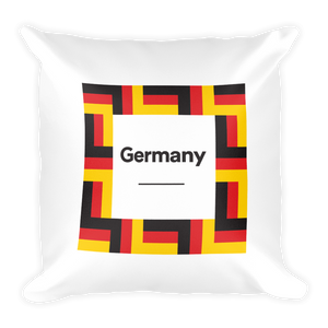 "Default Title Germany ""Mosaic"" Square Pillow by Design Express"