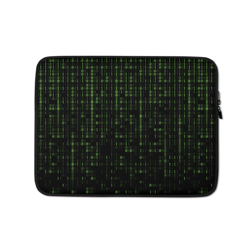 13 in Binary Code Laptop Sleeve by Design Express