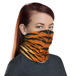 Tiger Texture Neck Gaiter Masks by Design Express