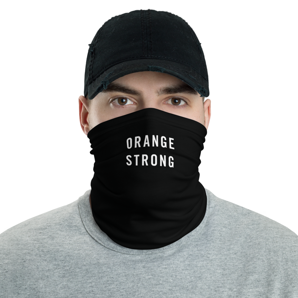 Default Title Orange Strong Neck Gaiter Masks by Design Express