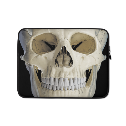 13 in Skull Laptop Sleeve by Design Express