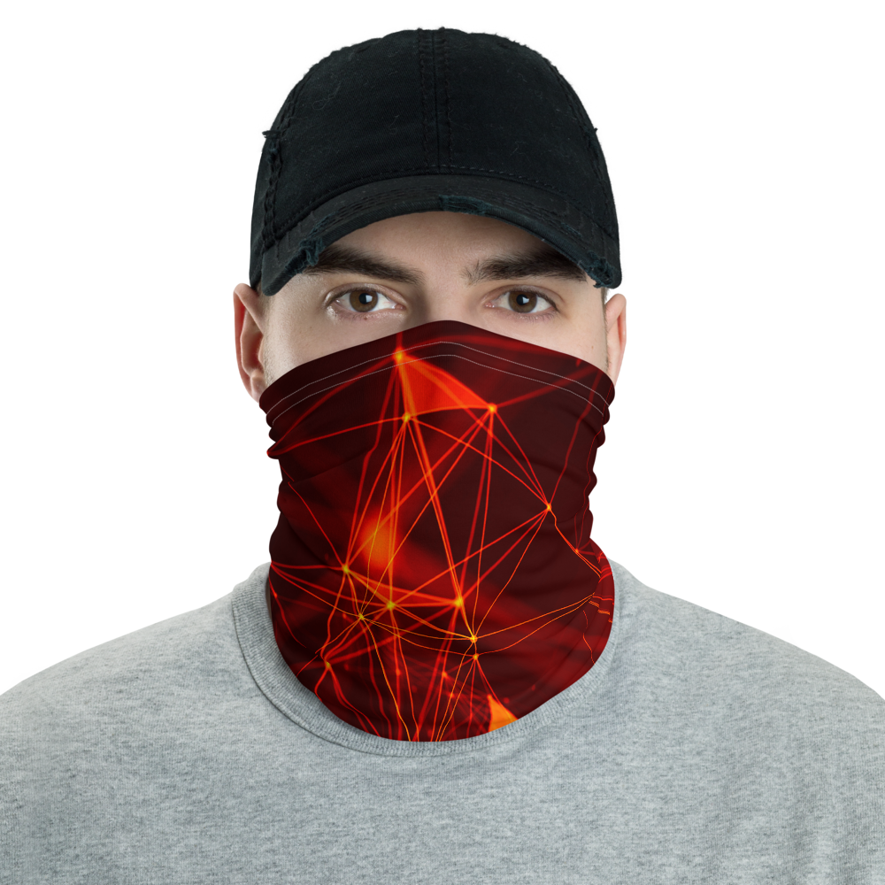 Default Title Geometrical Triangle Neck Gaiter Masks by Design Express