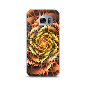 Samsung Galaxy S7 Edge Abstract Flower 01 Samsung Case by Design Express