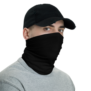Black Neck Gaiter Masks by Design Express