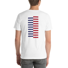 America Tower Pattern Unisex T-Shirt by Design Express