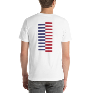 America Tower Pattern Unisex T-Shirt