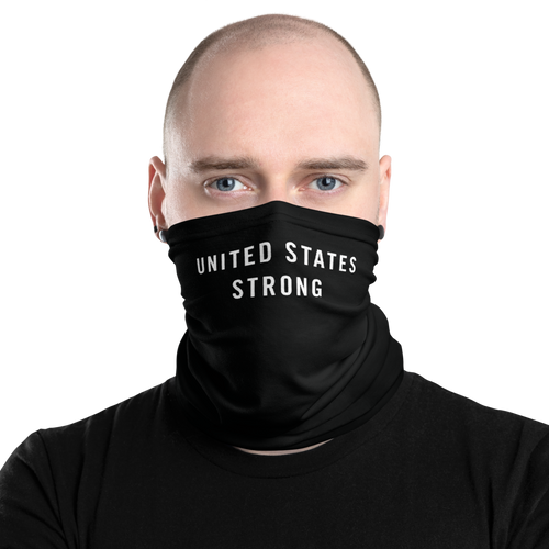 Default Title United States Strong Neck Gaiter Masks by Design Express