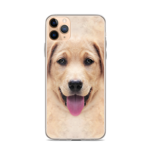 iPhone 11 Pro Max Yellow Labrador Dog iPhone Case by Design Express