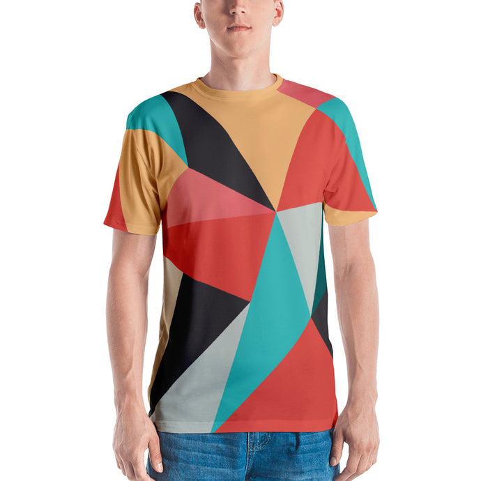 Abstract Geometrical Pattern Men's T-shirt