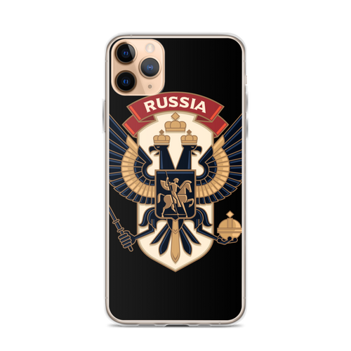 iPhone 11 Pro Max Eagle Russia iPhone Case by Design Express