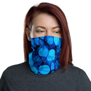 Default Title Crystalize Blue Neck Gaiter Masks by Design Express