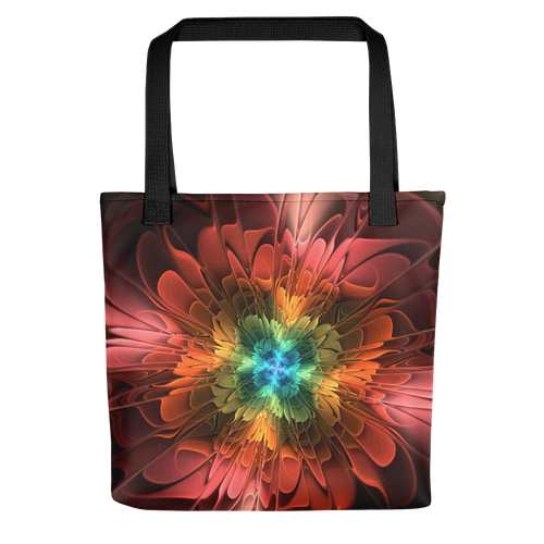 Default Title Abstract FLower 03 Tote Bag by Design Express