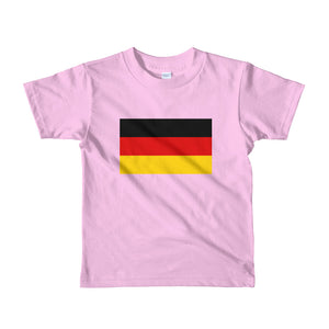 Pink / 2yrs Germany Flag Short sleeve kids t-shirt by Design Express