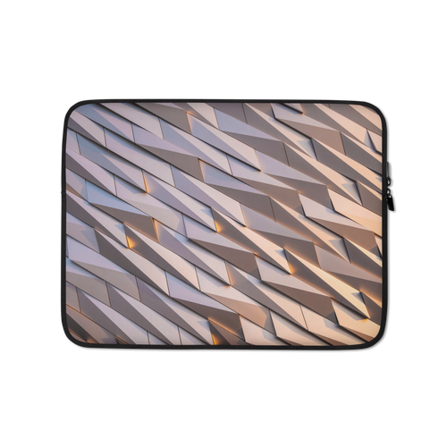 13 in Abstract Metal Laptop Sleeve by Design Express